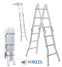 Thang nhôm gấp 4 khúc NIK34A & NIK34