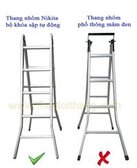 Sử dụng thang nhôm an toàn