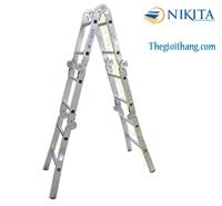 Thang nhôm gia đình xếp 6 khúc Nikita - NIK36A