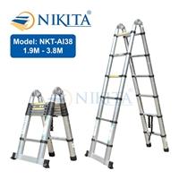 Thang nhôm rút đa năng Nikita NKT-AI38