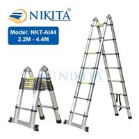Thang rút đa năng - Thang rút nhôm Nikita NKT-AI44