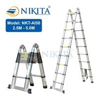 Thang rút chữ A - Thang rút gọn Nikita NKT-AI50