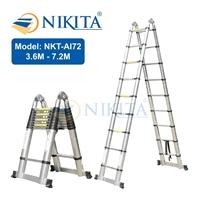 Thang nhôm rút đa năng Nikita NKT-AI72
