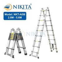 Thang nhôm rút đa năng Nikita NKT-AI56