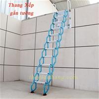 Cầu thang ốp tường