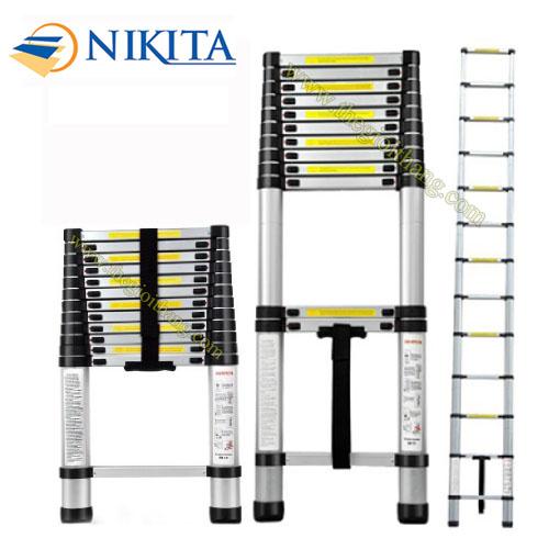 Thang nhôm rút Nikita NKT-R62